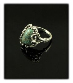 Organic Miss Moffet Turquoise Ring