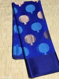 Sarees Trendy Banarasi Cotton Silk Zari Work Saree  *Fabric* Saree - Banarasi Cotton Silk  *Size* Saree Length -  5.5 Mtr Without Blouse  *Work* Zari Work  *Sizes Available* Free Size *    Catalog Name: Aradhya Zari Woven Banarasi Cotton Silk Sarees CatalogID_130098 C74-SC1004 Code: 756-1064884-