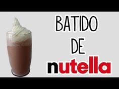 Batido de Nutella, facil y rapido - Tutoriales Belen - YouTube