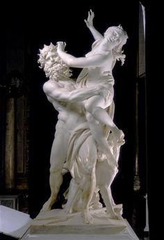 Le Bernin, L'Enlèvement de Proserpine, 1621-1622, marbre, 255 cm de haut, Rome, Galleria Borghese