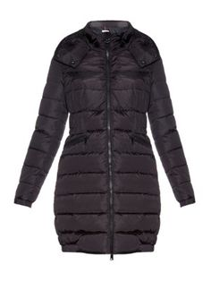 Charpal quilted down jacket Black Down, Black Quilt, Quilted Jacket, Moncler, Women Wear, Winter Jackets, Clothes, Collection, Shopping
