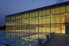 Centro de Natación Vijuš / SANGRAD architects + AVP Arhitekti (Slavonski Brod, Croacia) #architecture