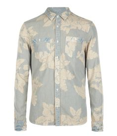 Rockpile Shirt 0, Men, Shirts, AllSaints Spitalfields