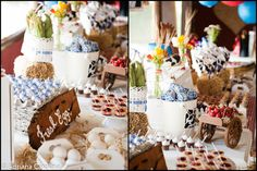 Kara's Party Ideas | Kids Birthday Party Themes: Chocolate Farm 1st Birthday Party