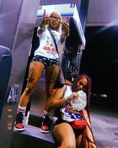 Matching Outfits Best Friend, Best Friend Outfits, Baddie Outfits Casual, Girl Outfits, Cute Outfits, Go Best Friend, Best Friend Goals, Flipagram Instagram, Fille Gangsta
