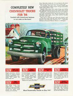 1954 Chevrolet Truck Ad-03