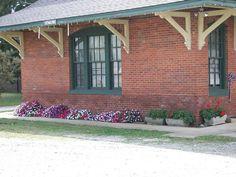 Old Train Depot in Ninety-Six, SC