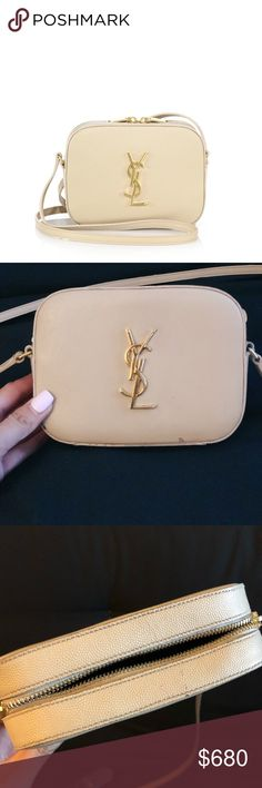 dfb46852c55 AUTH YSL monogram camera crossbody Has some minor wear and tear (please  pictures) as it's been preloved! No trades. -$100 off through Vinted.