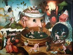 School of Hieronymus Bosch, The Vision of Tondal, 16th century