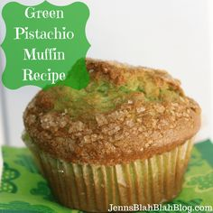 Green Pistachio Muffin Recipe
