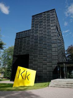 Outside KK signage