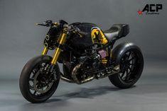 ACP Customs  –  BMW R nine T: 'The Wraith'