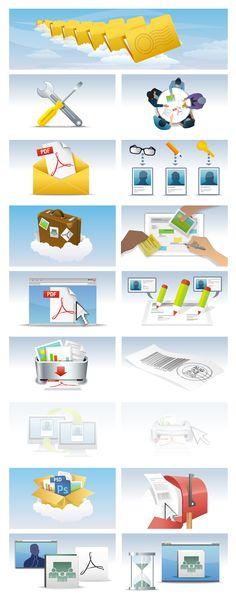 Blitz Agency for Microsoft - Illustration