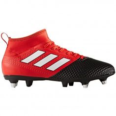 Adidas Ace 17.3 Primemesh SG BY2835 voetbalschoenen red #Adidas #voetbalschoenen