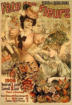 Fete des Fleurs, Paris 1919 by Louis Galice