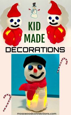 Lighting Up the Holidays With Kid-Made Ornaments - 30 Days of DIY Holiday Ornaments #Holidays #kidmade #ornaments #mosswoodconnections