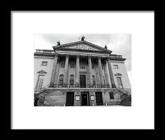 Berlin Framed Print featuring the photograph Berlin State Opera by Cuiava Laurentiu Poster Prints, Framed Prints, East Germany, Frame Shop, Black Wood, Hanging Wire, Wood Print, Clear Acrylic, Fine Art America