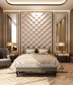 50 Luxury Bedroom Design Ideas that you Definitely want for your Dream Home - Bedroom Decoration - Luxury Bedroom Furniture, Luxury Bedroom Design, Master Bedroom Interior, Luxury Rooms, Master Bedroom Design, Luxurious Bedrooms, Bedroom Decor, Interior Design, Luxury Bedding