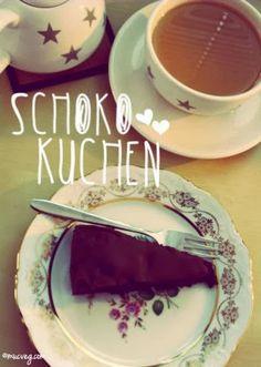 muc.veg: Schokoholic - Schoko-Kirsch-Kuchen