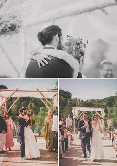 The kiss! #wedding #bride #groom (Image by Mango Studios)