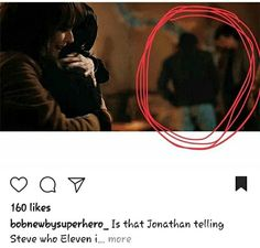 THANK YOU JONATHAN<<<< Right cause like Steve didn't know who Eleven was. Like that's crazy to think about. He just stepped up and did what he had to do and wasn't all like angry that he didn't know everything Stranger Things Have Happened, Stranger Things 3, Stranger Danger, Saints Memes, Should I Stay, Don T Lie, Going Crazy, Best Shows Ever, Fangirl
