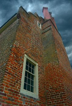 Bacon's Castle, Surry, Virginia  via Flickr -- cbonney.......oldest datable brick structure in the U.S....built in 1665.