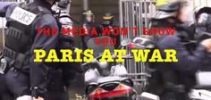 VIDEO: Mainstream Media Is Silent, Won't Report on War in Paris as Muslim Gangs Battle Police and Local Residents