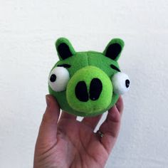 I'm happy to report that my plush Angry Birds and pigs were a GRAND success on Christmas!  My boys were absolutely thrilled!  Here are the p...