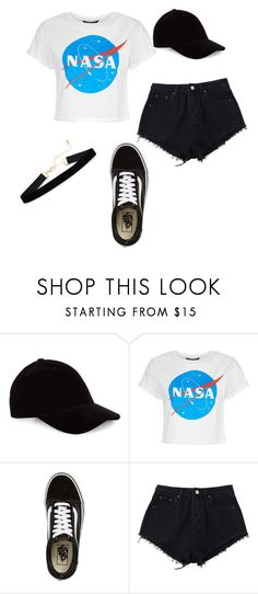 """casual 🌑"" by alma-rodriguez-2 ❤ liked on Polyvore featuring Vans"