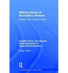 #newbook: Making Sense of Secondary Science./ Driver, R etal.  http://solo.bodleian.ox.ac.uk/OXVU1:LSCOP_OX:oxfaleph020490627