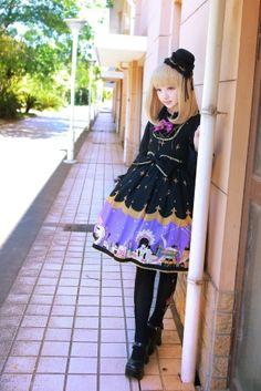 #lolita // omg i want that dress!