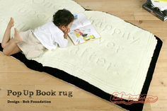 Bob Foundation Pop Up Book rug