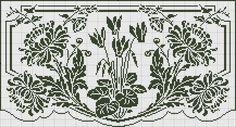 Ciclamen y crisantemos