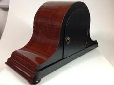 Perfecto-aleman-Dufa-frances-Pulido-carillon-de-Westminster-8-dias-Mantel-Clock
