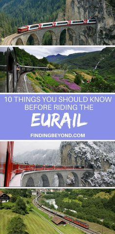 In this extensive Eurail guide, we share with you the 10 things you should know when planning, booking and riding the Eurail train through Europe. #europe #eurail #backpacking #travel #europetravel #bestofeurope | Europe by train | Backpacking around Europe | Europe Transport | Best of Europe | #eurailguide | Train Travel through Europe | #budgettravel