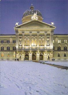 Swiss Parlament building ,Bundeshaus ,Bern