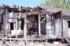Ruins of the Chicken Ranch Ranch Chicken, Research Projects, Small Towns, Abandoned, Gazebo, Texas, Outdoor Structures, Cabin, House Styles