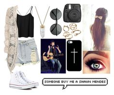 """""""Going to a Shawn Mendes Concert"""" by kyliegrier ❤ liked on Polyvore"""