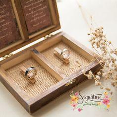 Image result for wooden ring holder