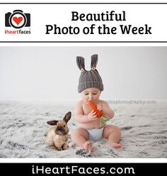 Beautiful Photo of the Week #photography #iheartfaces #easter #children