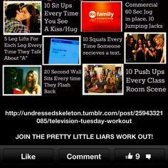 Pretty Little Liars workout