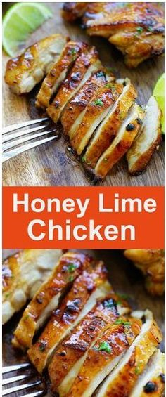 Honey Lime Chicken - crazy delicious chicken with honey lime. The BEST chicken that you can make for your family, takes only 20 mins! #honeyrecipes #limerecipes #chicken #easyrecipes #dinnerrecipes