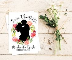 Save The Date Card. Save The Card Wedding, Save The Date Cards, Party Printables, Dating, Handmade Gifts, Etsy, Marriage Invitation Card, Kid Craft Gifts, Quotes
