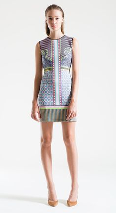 "Clover Canyon Spring 2013 - The ""Neon Cowboy"" Dress [$268 at Perch]"