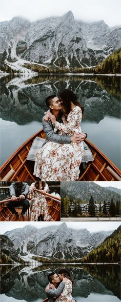 A surprise proposal and engagement shoot on Pragser Wildsee Lago di Braies in Italy. Photos by Wild Connections Photography. Romantic Surprise, Surprise Proposal, Beautiful Songs, Most Beautiful, Adult Scavenger Hunt, At Home Dates, Young Women Activities, Night Couple, Dating Divas