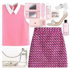 """""""Mini blog post random acts of kindness"""" by floralandmay ❤ liked on Polyvore featuring MSGM, Chanel, Nintendo, Pier 1 Imports, Christian Dior, H&M, MAC Cosmetics, Pink, clean and clear"""