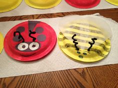 Paper plate ladybug and bee we are making in Daisies tomorrow to accompany our Garden Journey Daisy Journey Ideas, Journey Girls, Craft Projects For Kids, Crafts For Kids To Make, Kids Crafts, Craft Ideas, Girl Scout Daisy Petals, Daisy Girl Scouts, Girl Scout Law
