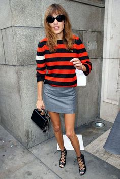 Alexa Chung's Street Style Moments | British Vogue