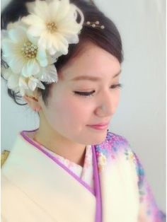 【かわいい】和装(着物)で結婚式♪ヘアスタイル・髪型・ヘアアレンジ画像集【ウェディング・和婚】 - NAVER まとめ