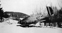 The sole Norwegian air-to-air Gloster Gladiator loss – Sergeant Pilot Schye's Gladiator 427 on 9 April 1940